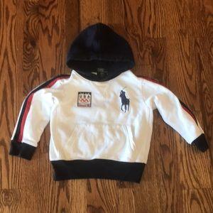 Team USA Vancouver 2010 Hooded Sweatshirt, Size 4